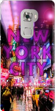 New York City - Broadway Color Case for Huawei Mate S