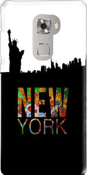 New York Case for Huawei Mate S