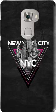 NYC V [pink] Case for Huawei Mate S