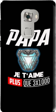 Papa je taime plus que 3x1000 Case for Huawei Mate S