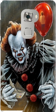 Pennywise Ca Clown Red Ballon Case for Huawei Mate S
