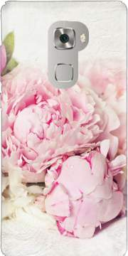 peonies on white Case for Huawei Mate S