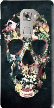 Skull Vintage Case for Huawei Mate S