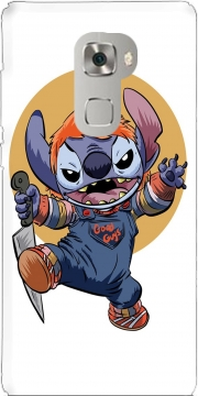 Stitch X Chucky Halloween Huawei Mate S Case