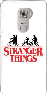 Stranger Things by bike Case for Huawei Mate S