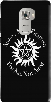 SuperNatural Never Alone Case for Huawei Mate S