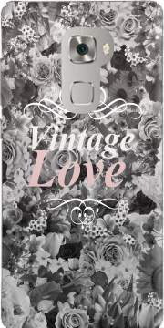 Vintage love in black and white Case for Huawei Mate S