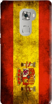 Flag Spain Vintage Case for Huawei Mate S