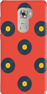 Vynile Music Disco Pattern Huawei Mate S Case