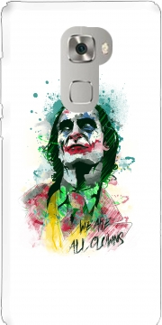 Watercolor Joker Clown Huawei Mate S Case