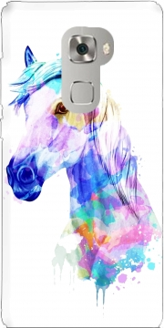 watercolor horse Case for Huawei Mate S