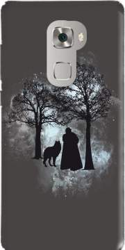 Wolf Snow Case for Huawei Mate S