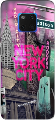 New York City II [pink] Case for Huawei Mate 20 Pro