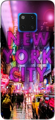 New York City - Broadway Color Case for Huawei Mate 20 Pro