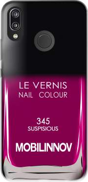 Nail Polish 345 SUSPISIOUS for Huawei P20 Lite