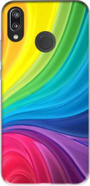 Rainbow Abstract Case for Huawei P20 Lite / Nova 3e