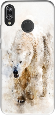 Abstract watercolor polar bear Huawei P20 Lite / Nova 3e Case