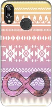 Pink Aztec Infinity Case for Huawei P20 Lite