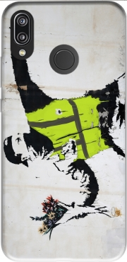 Bansky Yellow Vests Case for Huawei P20 Lite