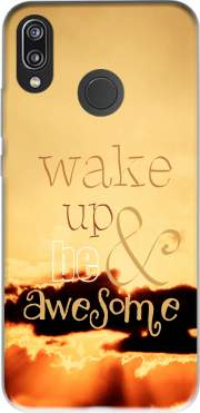 Be awesome Case for Huawei P20 Lite / Nova 3e