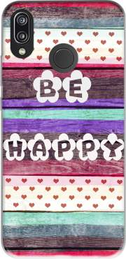 Be Happy Hippie Case for Huawei P20 Lite