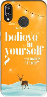 Believe in yourself Case for Huawei P20 Lite