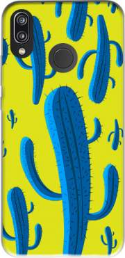 Blue Kaktus Case for Huawei P20 Lite