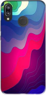Blurred Lines Case for Huawei P20 Lite