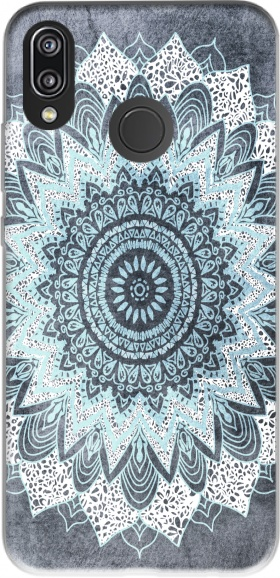 Case Bohochic Mandala in Blue for Huawei P20 Lite