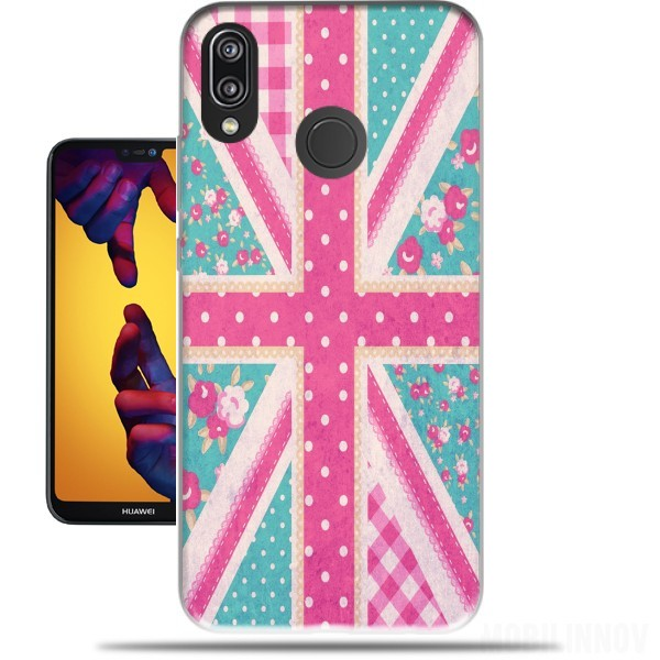 Case British Girls Flag for Huawei P20 Lite / Nova 3e