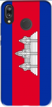 Cambodge Flag Case for Huawei P20 Lite / Nova 3e