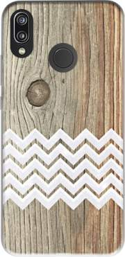 Chevron on wood Case for Huawei P20 Lite / Nova 3e