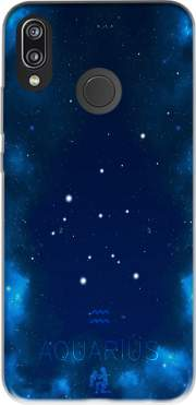 Constellations of the Zodiac: Aquarius Case for Huawei P20 Lite