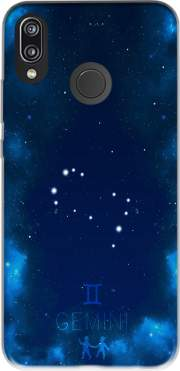 Constellations of the Zodiac: Gemini Case for Huawei P20 Lite