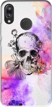 Color skull Case for Huawei P20 Lite