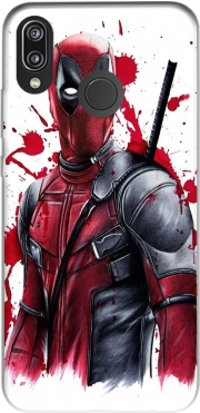 Deadpool Painting for Huawei P20 Lite