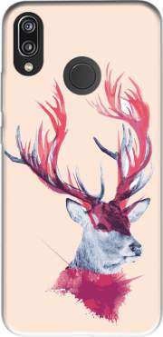 Deer paint for Huawei P20 Lite