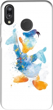 Donald Duck Watercolor Art Huawei P20 Lite Case