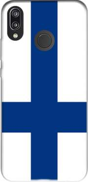 Flag of Finland Case for Huawei P20 Lite