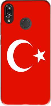 Flag of Turkey Case for Huawei P20 Lite