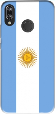 Flag Argentina for Huawei P20 Lite