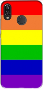 Flag Gay Rainbow Case for Huawei P20 Lite