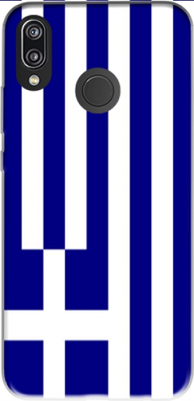 Case Greece flag for Huawei P20 Lite / Nova 3e
