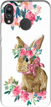 Flower Friends bunny Lace Case for Huawei P20 Lite / Nova 3e