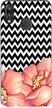 flower power and chevron Huawei P20 Lite / Nova 3e Case