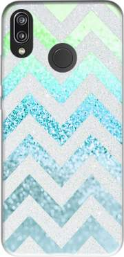 FUNKY CHEVRON BLUE Case for Huawei P20 Lite