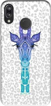 Giraffe Purple Case for Huawei P20 Lite
