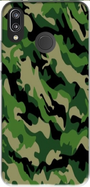 Green Military camouflage Case for Huawei P20 Lite