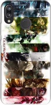 Guild Wars 2 All classes art Case for Huawei P20 Lite