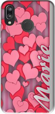 Heart Love - Marie Case for Huawei P20 Lite